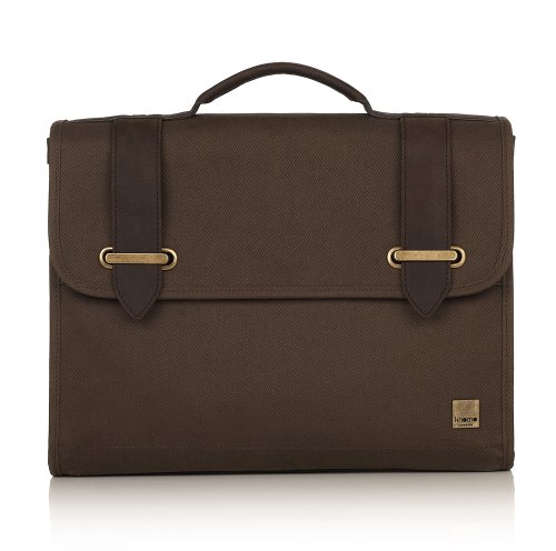 knomo-balham-padstow-13-inch-slim-briefcase-sand