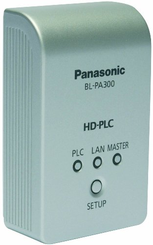 Panasonic - High Definition Power Line Communication Ethernet Adaptor- Twin Pack