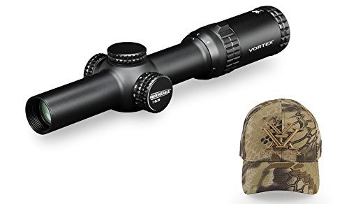 Vortex-Optics-Strike-Eagle-1-6x24-Rifle-Scope-AR-BDC-Reticle-MOA-SE-1624-1-with-FREE-Vortex-Kryptek-Highlander-Ball-Cap