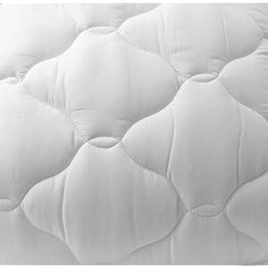 "SonnoRx Standard Regency Pillow Top Mattress Pad Deluxe 3"" Loft Queen Sleeper Sofa RV 60""x72"