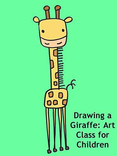 Drawing a Giraffe: Art Class for Children