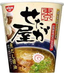 日清 「有名店シリーズ せたが屋 魚だし醤油」X1箱(12入)