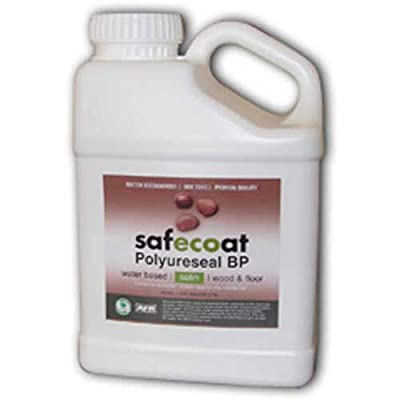 Afm Safecoat Polyureseal Bp Satin Finish, Clear 32 Oz. Can 1/Case from AFM Safecoat