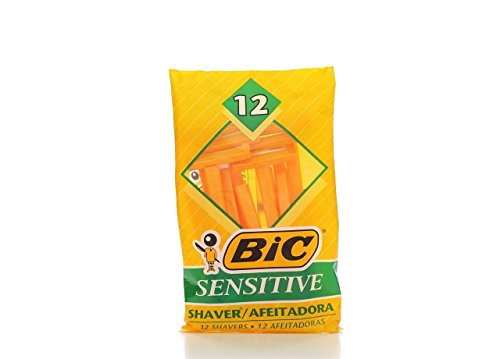 BIC Sensitive Single Blade Shaver, 36 Count (Single Shaver Blades compare prices)