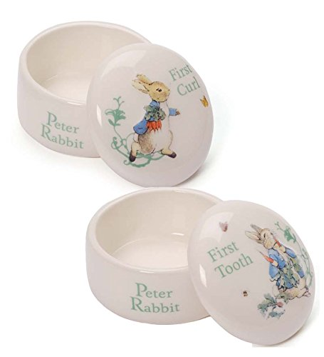 Gund Classic Beatrix Potter First Tooth and Curl Box Set