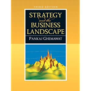 Download book Strategy and the Business Landscape (3rd Edition)