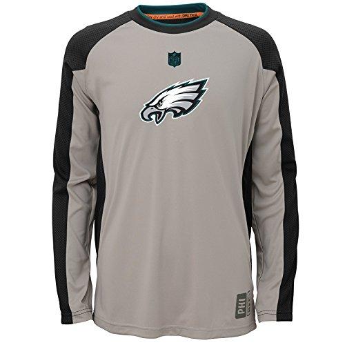 nfl-youth-boys-8-20-philadelphia-eagles-covert-ls-top-warm-gray-m-10-12