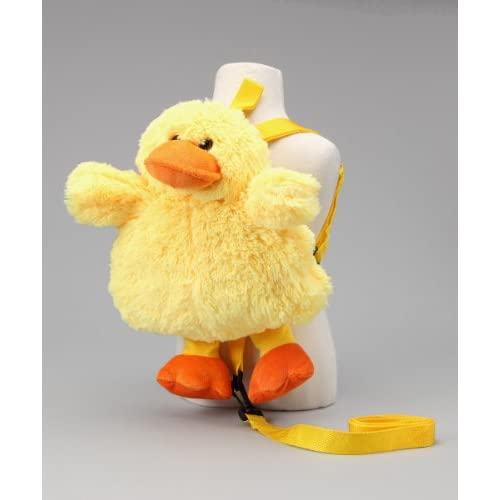 "Amazon.com: KewlWool Children's ""Duck"" Plush Animal Backpack with"