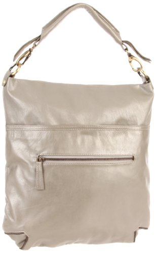 Latico Women's Francesca 7969 Hobo,Metallic Gray,One Size