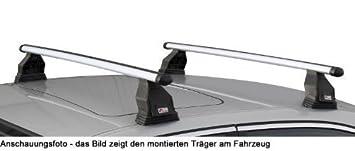Schrägheck 5Türer ab 2013 Aluminium Dachträger Menabo Tema Ford Fiesta