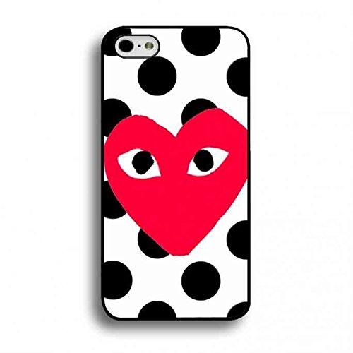 Comme Des Gar?ons Play携帯電話ケース,Apple iPhone 6/6S 対応Comme Des Gar?ons Playロゴ携帯電話ケース,TPU Comme Des Gar?ons Play 携帯電話ケース,Apple iPhone 6/6S(4.7インチ)スリムハードケース