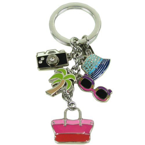 Coach   Coach Travel Resort Handbag Sunglasses Palm Tree Hat Keychain