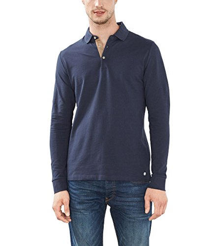 ESPRIT Collection 086EO2K002, Polo Uomo, Blu (Navy 2), X-Large