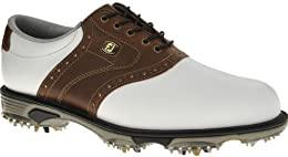 FootJoy 2012 Men s DryJoys Tour Golf Shoes Close out White Brown 53733
