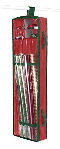 Whitmor 6129-5343 Hanging Gift Wrap Organizer (Gift Wrapping Paper Storage compare prices)