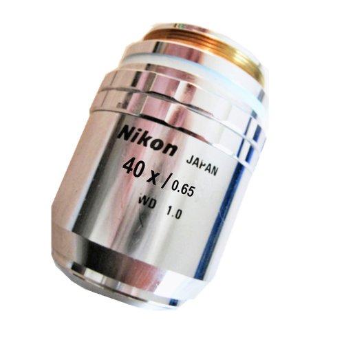 Nikon Cf Plan 40X/0.65 ∞/0 Bd Microscope Objective Lens