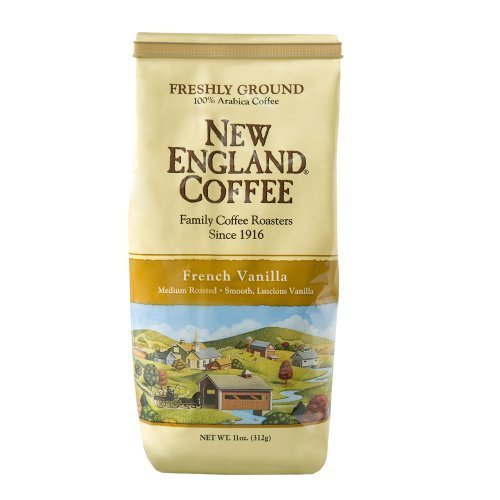 New England Coffee French Vanilla, 11 Ounce By New England Coffee
