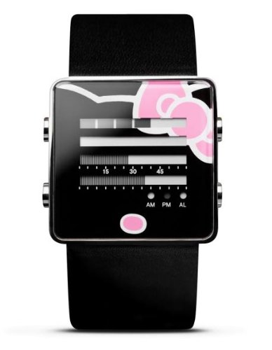 Nooka Hello Kitty Zen-H Black Watch