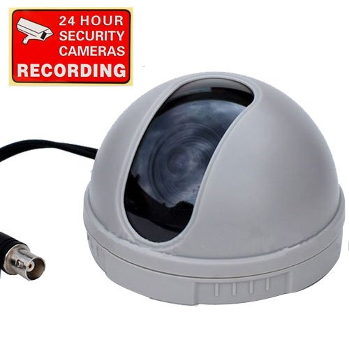 VideoSecu CCTV CCD Dome Security Camera 420 T...
