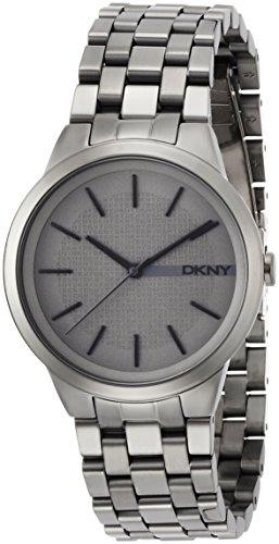 DKNY-Reloj de pulsera Park Slope Digital Cuarzo Acero inoxidable ny2384