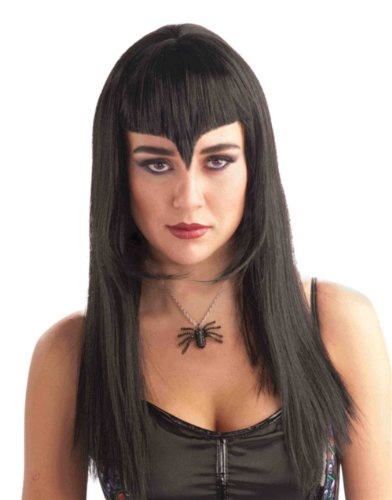Deluxe Black Widow Wig