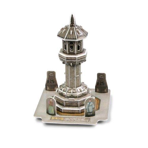 Jigsaw 3D Puzzle Korea Culture Series - Balhae stone lantern - 1