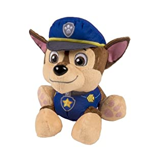 Paw patrol pup pals chase soft toy amazon co uk toys amp games