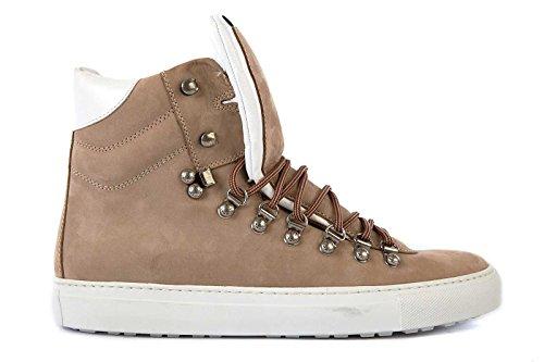 Dsquared2 Herrenschuhe Herren Leder Schuhe High Sneakers beige EU 40.5 W13 SN113 097 thumbnail