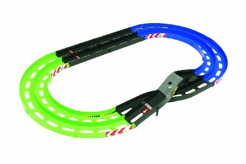 Mini 4wd Oval Home Circuit with Lane Change 69569 (Light Green/blue) (Mini 4wd Circuit compare prices)