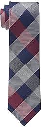 Tommy Hilfiger Men\'s Rwb Buffalo Slim Tie, Red, One Size