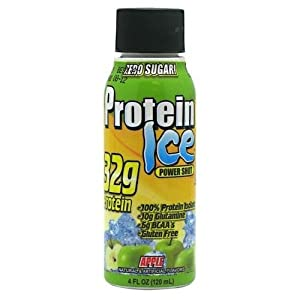 Protein Ice Power Shot, Apple, 12 Bottle, From Advanced Nutrient Science