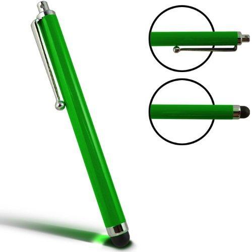 WalkNTalkOnline - Grün - Hohe Kapazitive Schreibkopf Feder für Apple iPad 1, iPad 2, iPad 3, iPad 4 4G & iPad Mini (Green)