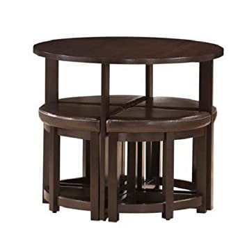 Rochester 5-Pc Bar Table Set by Wholesale Interiors
