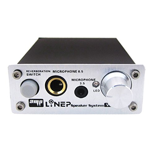 Echo Mic Preamp 2-Channel Audio Mixer 3.5mm/6.5mm Dual Microphone Echo Amplifier Computer Micphone Preamplifier Made of Aluminum Alloy and Treated With Surface Oxidation - Plug and Play (Mic Mixer Amplifier compare prices)