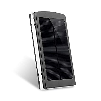 VicTec 10000mAh Solar Charger Power Bank