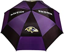 NFL Baltimore Ravens 62-Inch Double Canopy Umbrella