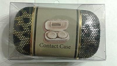 Tri-Coastal Design Black Cheetah Contact Case