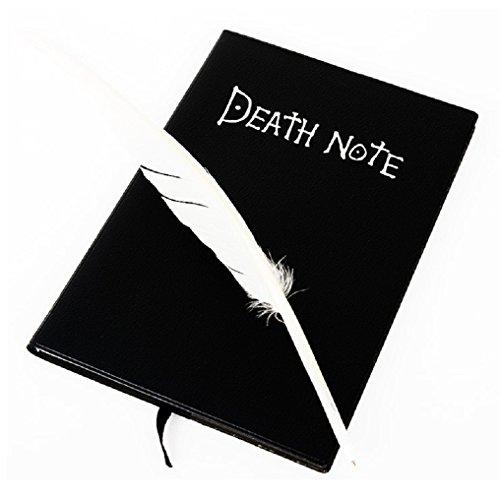 Malloom® Death Note Taccuino & penna penna libro Diario Anime del Giappone scrittura ufficiale Nuovo
