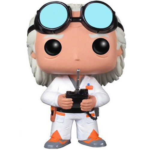 Funko POP Movie Back to The Future Doc Vinyl Figure
