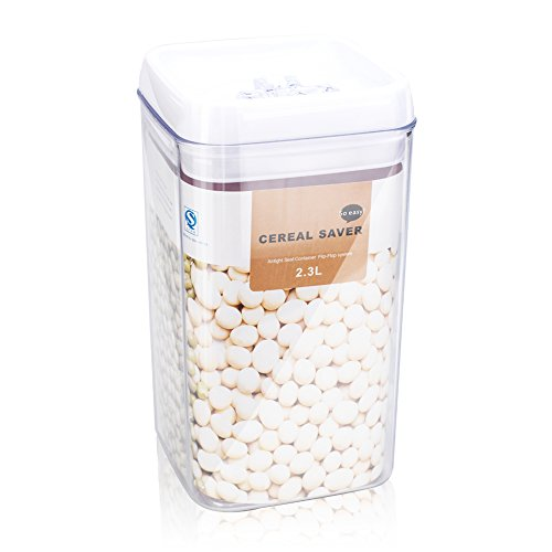 Mango Spot cereal saver Food Storage Container Kitchen Vacuum Seal Lid, 2.43 Quart (Food Containers Vacuum compare prices)