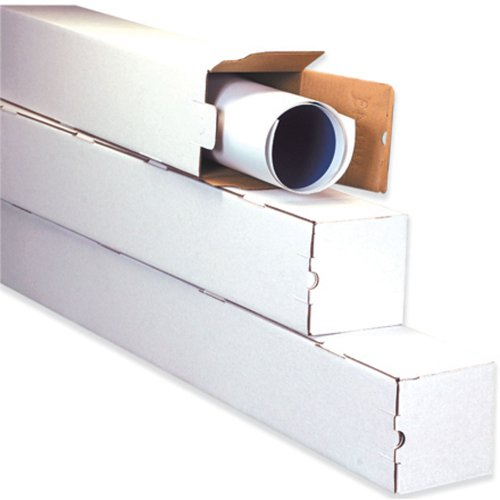 Aviditi M5537 Corrugated Square Mailing Tube, 37