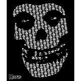 Misfits Skull Fleece BLANKETS Officially Licensed BLANKET, 50