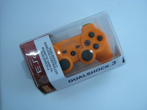 Playstation 3 Ps3 Dualshock 3 Wireless Controller- Orange