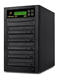 Copystars CD Dvd Duplicator 1 to 5 Sata 24x burner writer DVD copier 128MB buffered tower