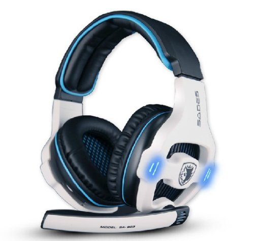 Abc High Quality Surround Stereo Headband Pc Notebook Pro Gaming Headset Microphone