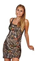 Mossy Oak Dress Camo Tank gown Swim Cover Up Lounge Gown JRS S-XXL