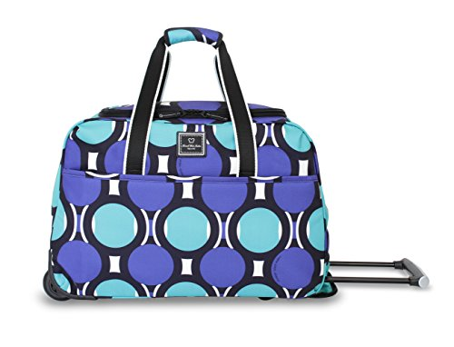 french-west-indies-collection-175-rolling-duffel-teal-retro-dot