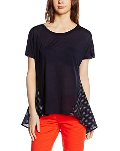French Connection Blusa FT Mosaic Polly Plains Azul Oscuro M