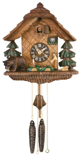 River City Clocks Chalet Style One Day Cuckoo Clock