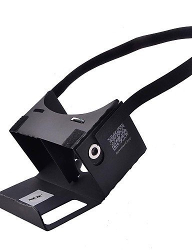 "NEJE DIY Google Cardboard Virtual Reality 3D Glasses with Headband + NFC for 3.5~6"" Phone"